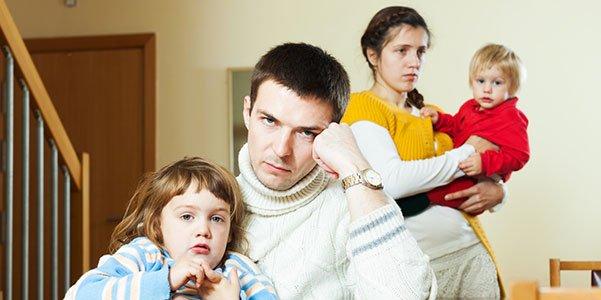 ילדים בהליך הגירושין
